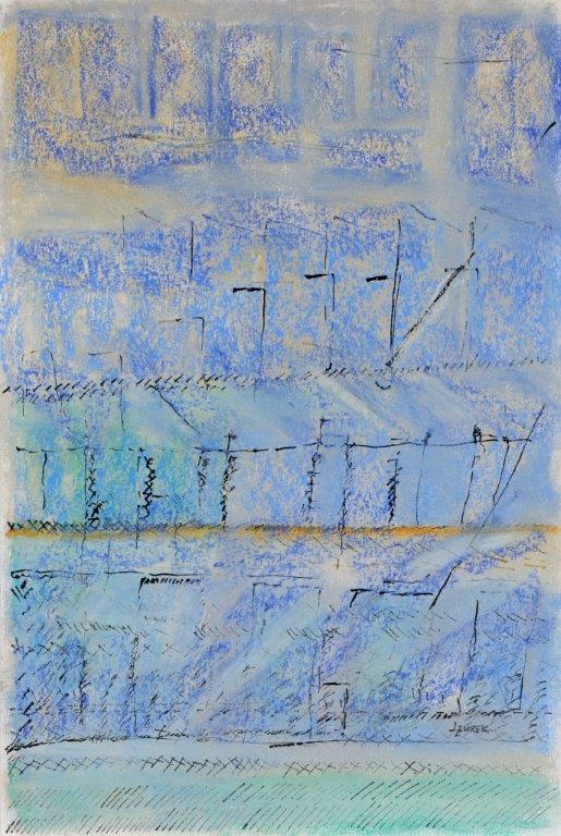Dans le bleu- Giverny II